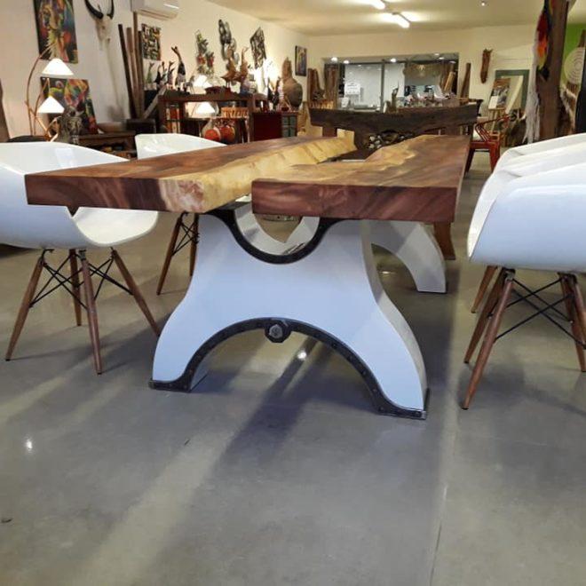 Table Miami mise en situation dans un magasin deco&design