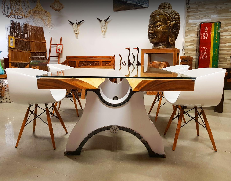 Do'n'Zo Design - Table Miami disponible dans la boutique Baticaro